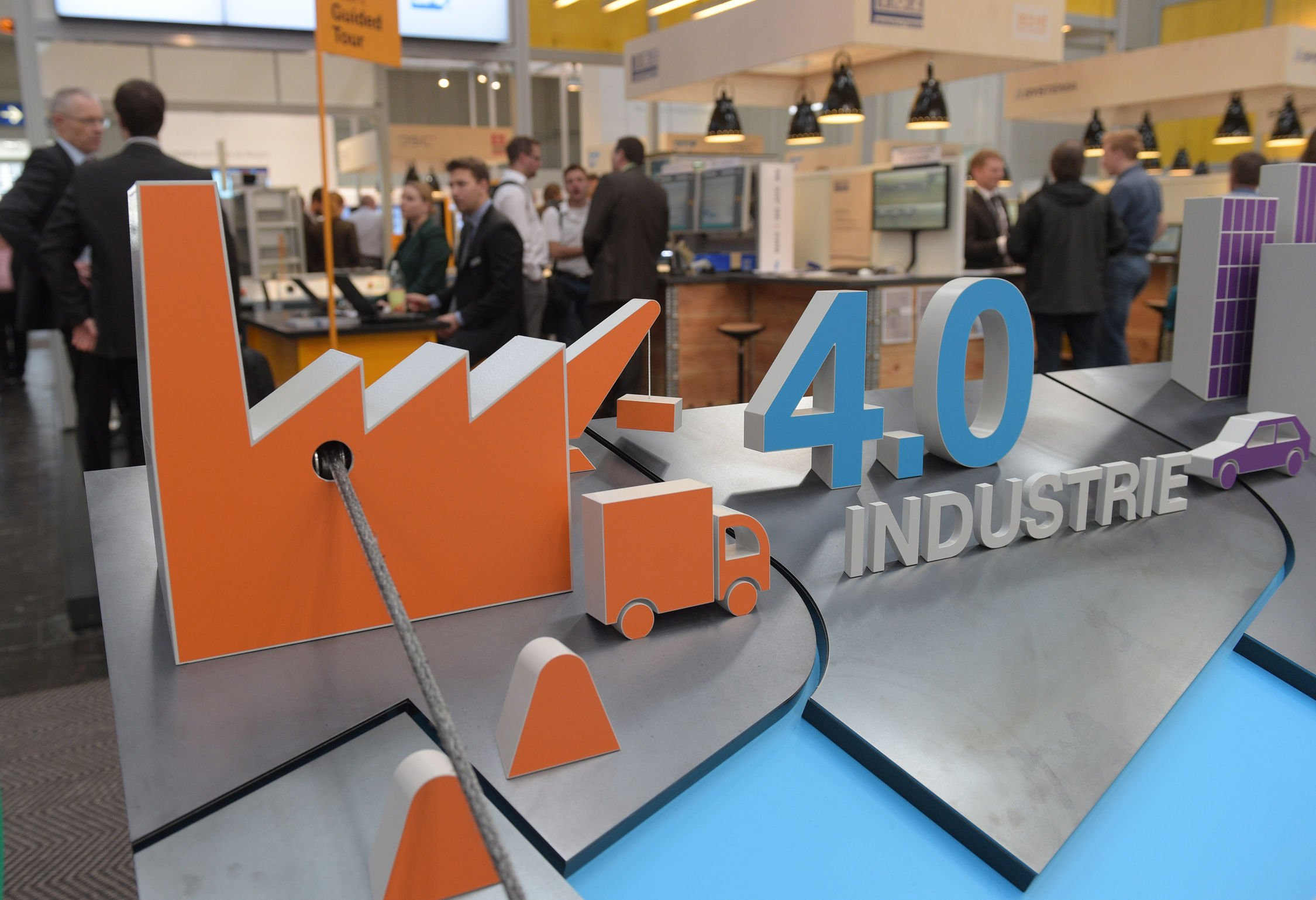 Industrie 4.0 ist eines der zentralen Themen auch der Hannover Messe 2016, die am 24. April beginnt.