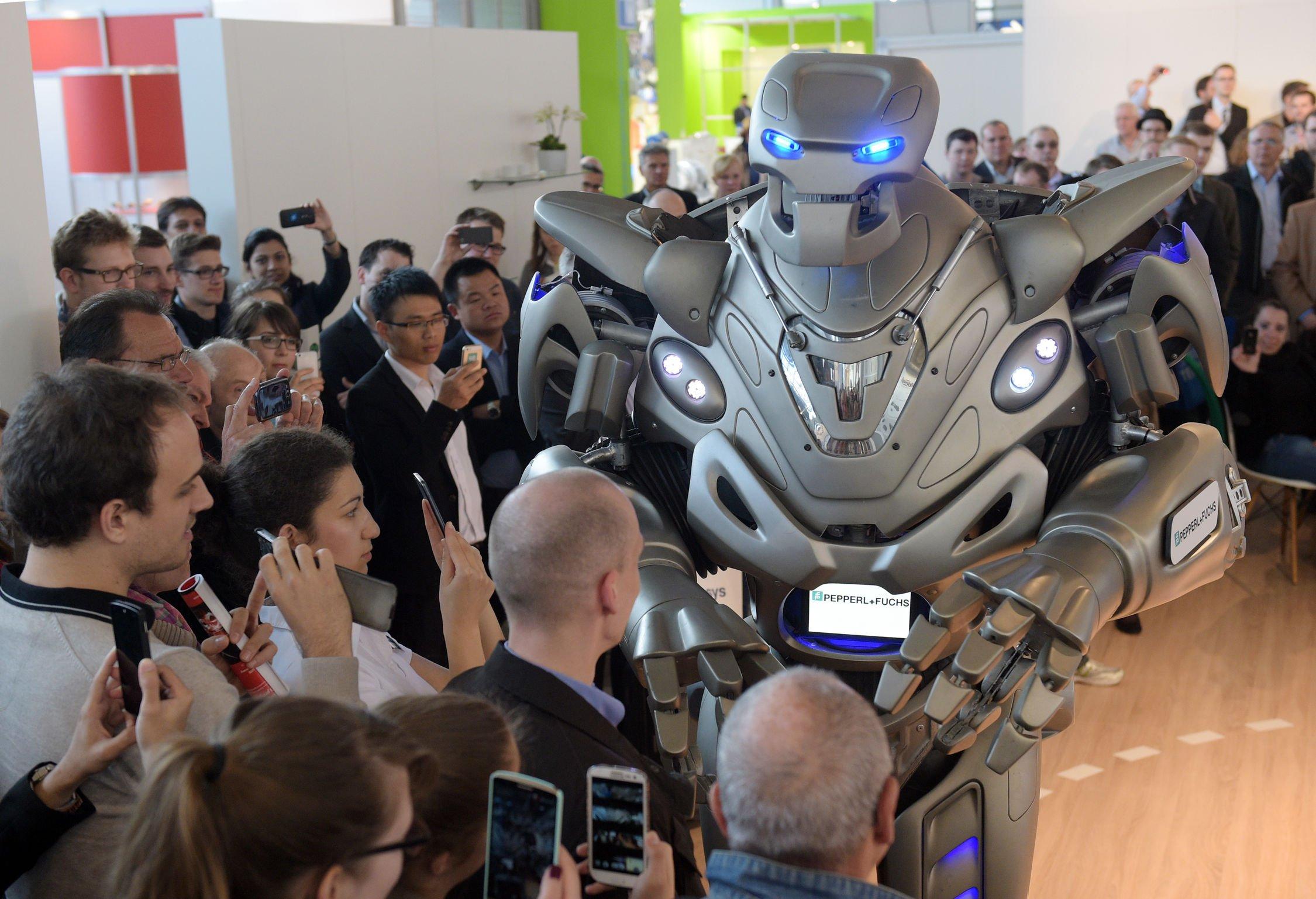 Roboter sind auf der Hannover Messe ein wichtiges Thema.