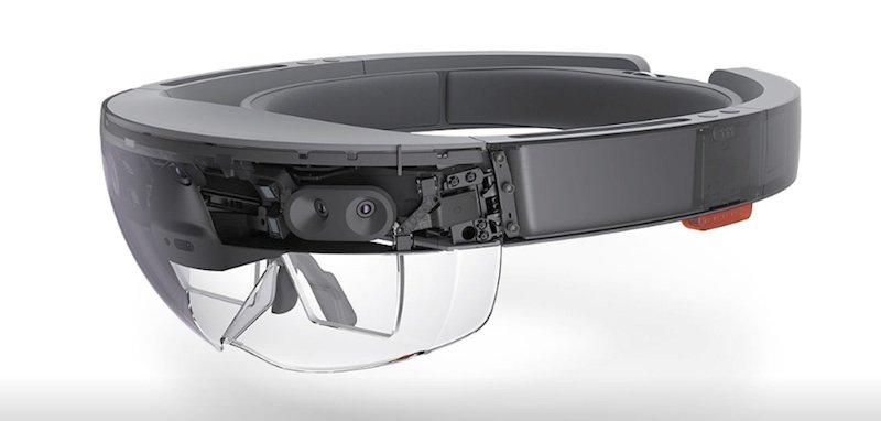 HoloLens von Microsoft.