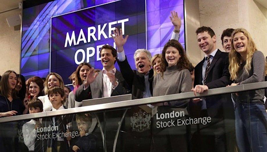 Börsengang an der Londoner Börse: Nach wie vor ist London der mit Abstand größte Handelsplatz in Europa und weltweit knapp vor New York.
