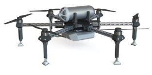Drohne mit Brennstoffzelle soll zwei Stunden in der Luft bleiben