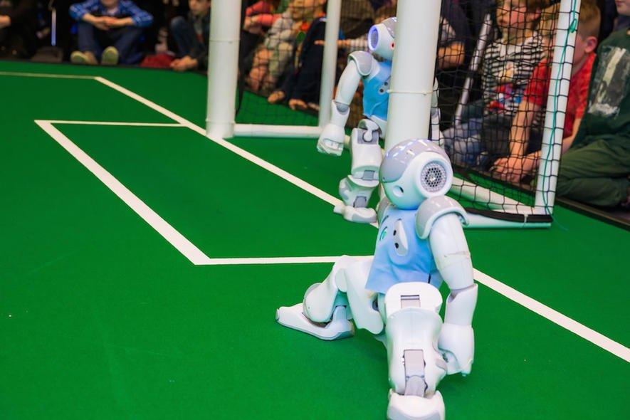 Bremen ist Europameister im Roboterfußball