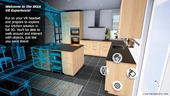 Ikea experimentiert mit virtueller Realität (VR). Der Einrichtungskonzern testet in einem Pilotprojekt eine App, mit der Kunden – ausgerüstet mit einem Headset – virtuell drei Küchen erkunden können.