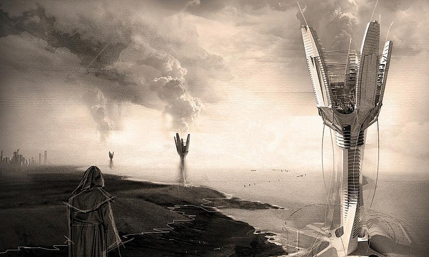 Wie man in Island Server im Wolkenkratzer mit Wind kühlen könnte