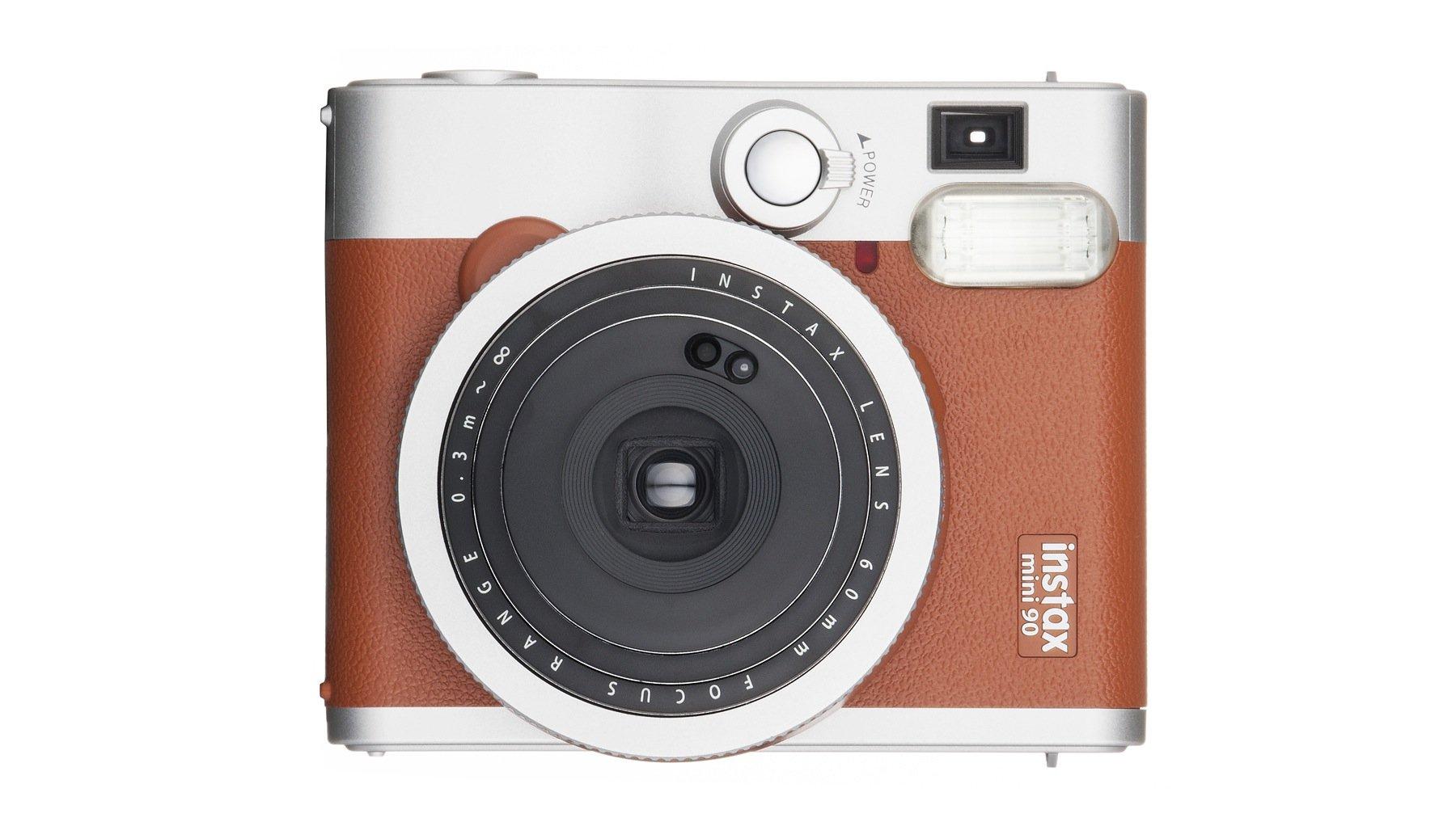 Fujifilm bietet schon seit drei Jahren wieder Sofortbildkameras an. Im Bild das Retromodell Instax mini 90