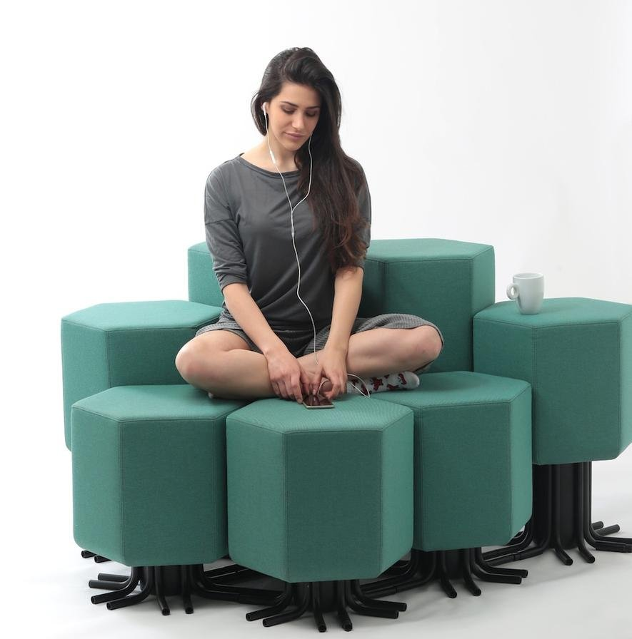 Internet of Things: So lässt sich dieses Sofa per App verwandeln