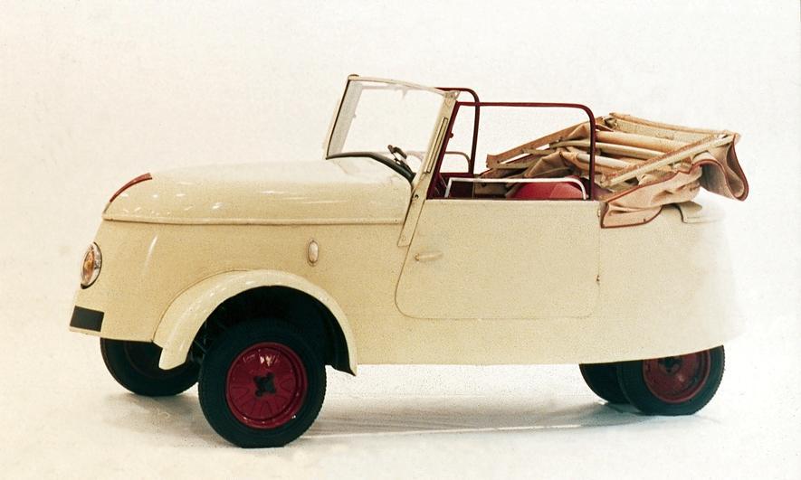 Peugeot brachte schon 1941 sein erstes Elektroauto auf den Markt