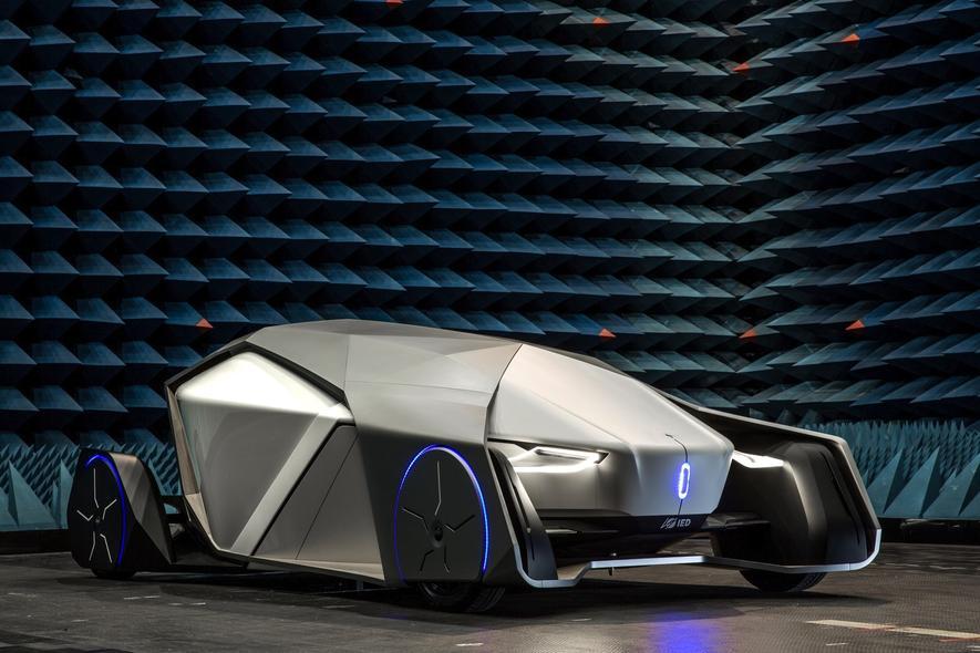 Der Shiwa der Turiner Design-Schmiede IED ist ein autonom fahrendes Elektroauto – ohne Fenster.