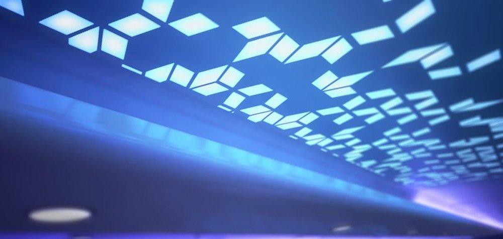 LEDs simulieren unterschiedliche Tages- und Nachtzeiten.