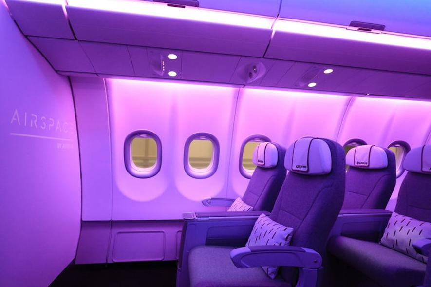 Airbus will mit Speziallicht Passagieren den Jetlag ersparen