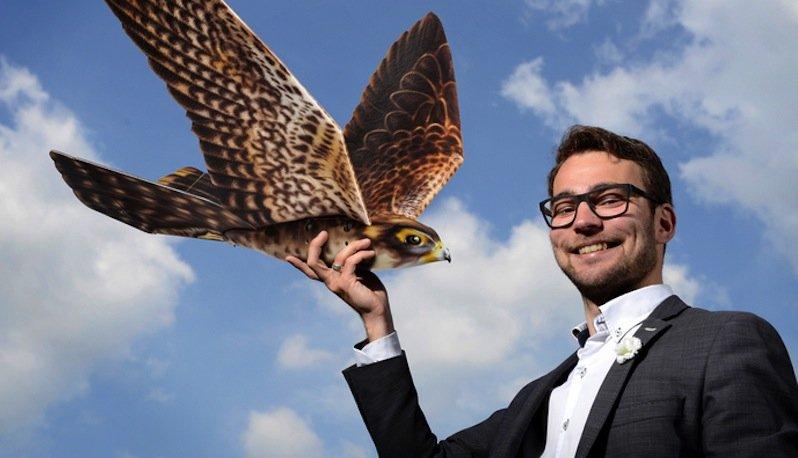 Der Gründer vonClear Flight Solutions:Nico Nijenhuis.