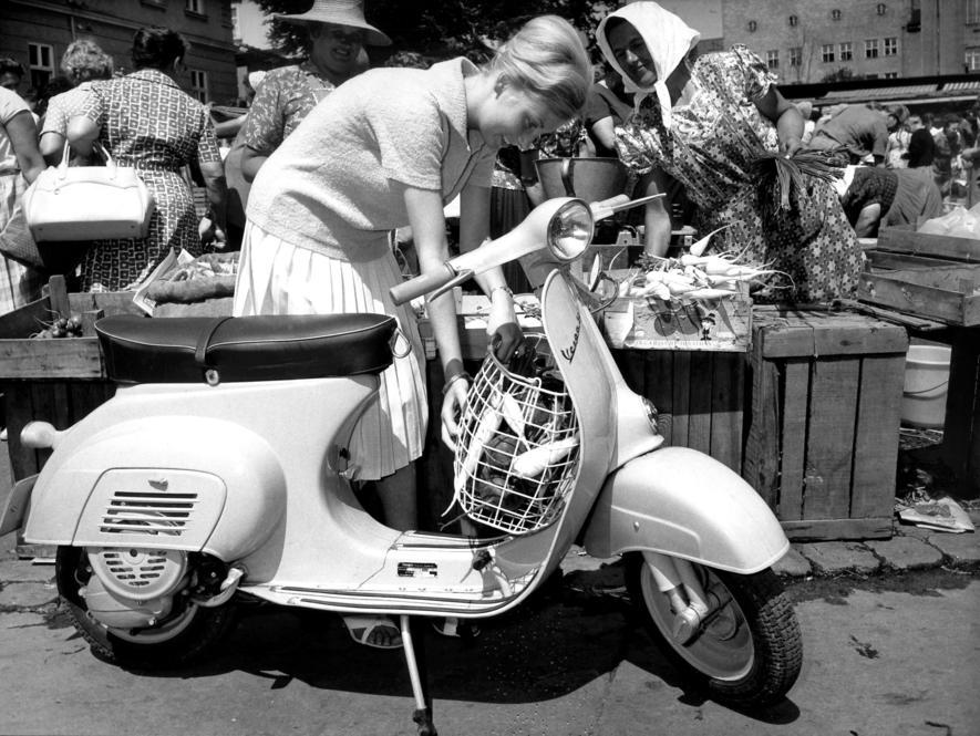 Die Vespa, der schönste Roller der Welt, wird 70 Jahre jung