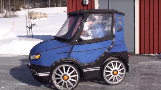 PodRide: Das Pedelec des schwedischen Ingenieurs Mikael Kjellmann beschleunigt auf eine Höchstgeschwindigkeit von 25 km/h und hat eine Reichweite von 60 km.