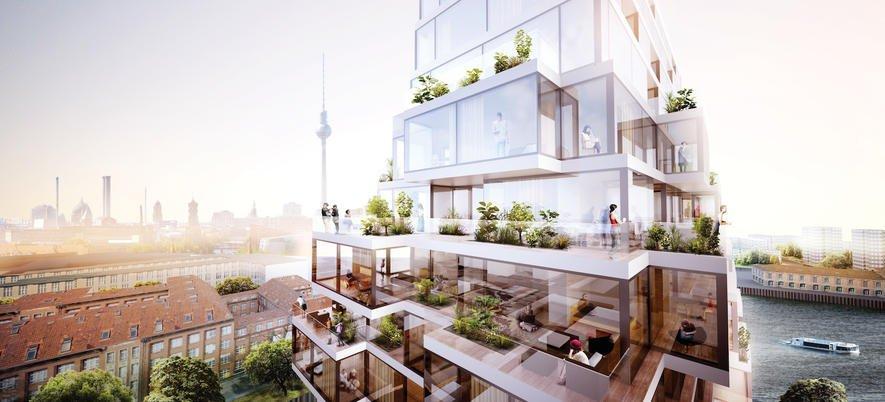 Vision für Berlin: Pyramidenhaus mit Mischnutzung