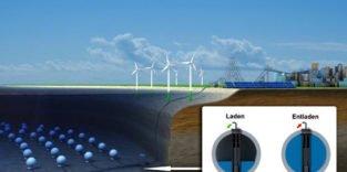 Betonkugeln im Bodensee sollen Windstrom speichern