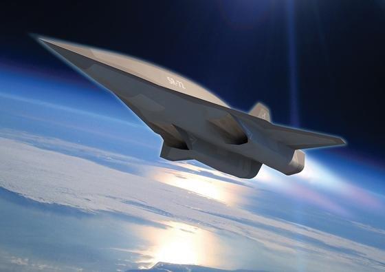 Der Aufklärungs- und Kampfjet SR-72 von Lockheed Martin soll wenigsten Mach 6 erreichen. Ein Prototyp soll schon 2018 fertig sein.