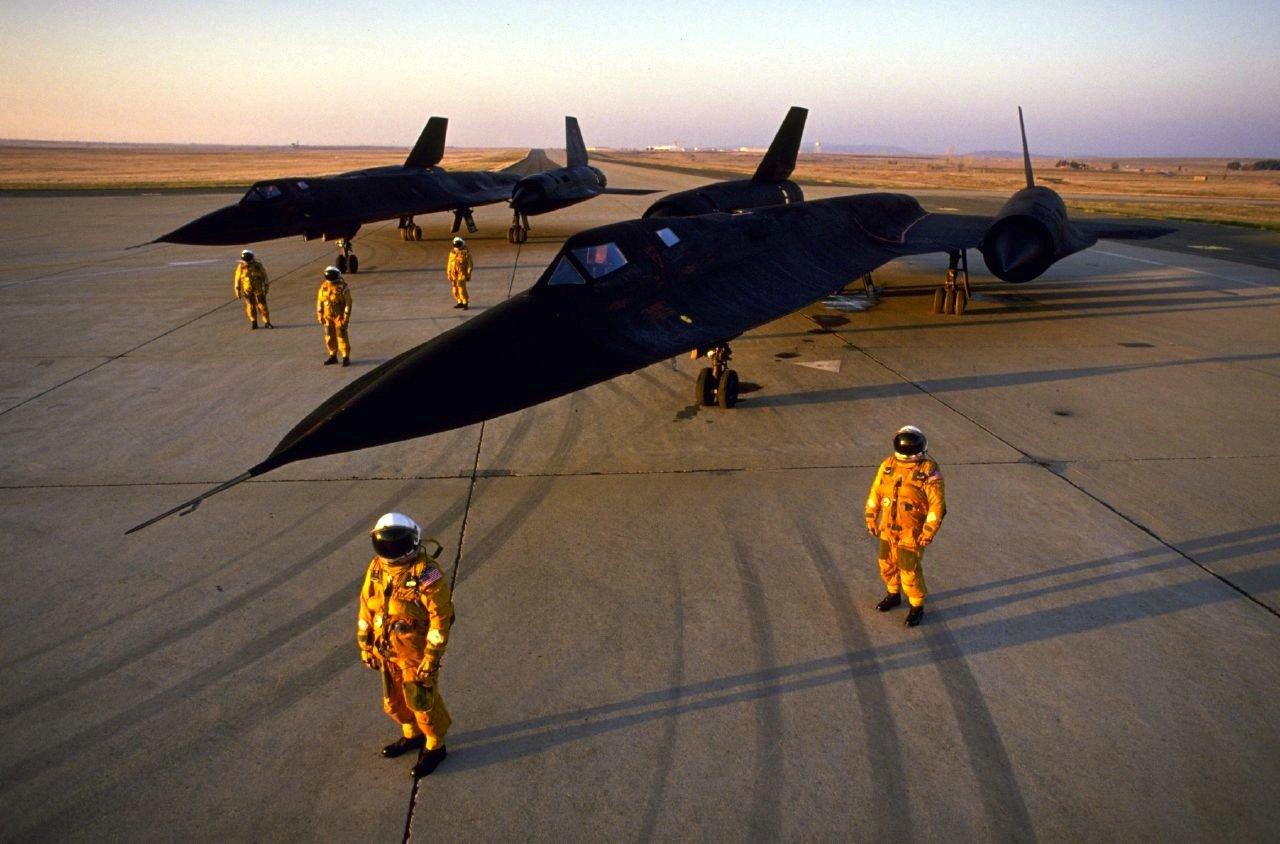 Die Reichweite des Aufklärers SR-71 lag bei 5400 Kilometern.