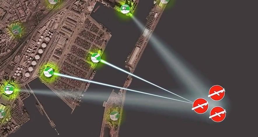 Laserwaffen können auch zur Abwehr von Drohnen und Cruise Missiles eingesetzt werden.
