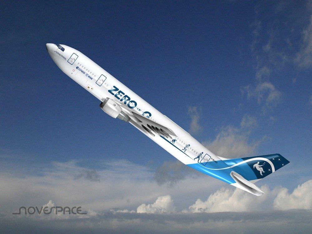 Bei Novespace gibt es den Flug in die Schwerelosigkeit für 6000 Euro.