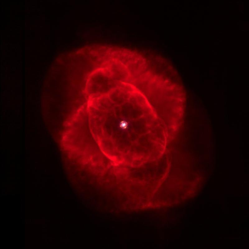 Komposition von drei planetarischen Nebeln, die Luci am 20. und 21. März 2016 aufgenommen hat.