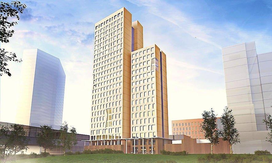 Das künftig höchste Holzhochhaus der Welt wird mit 24 Etagen und 84 Metern in Wien gebaut.