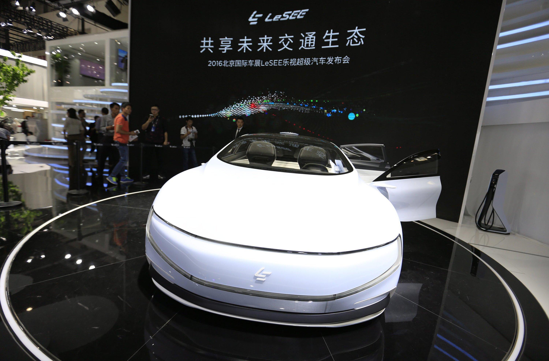 LeSee soll das Taxi der Zukunft werden. Das Elektroauto ist mit dem Internet verbunden, mit Smartphone-Sprachbefehlen lässt sich der Autopilot aktivieren, der automatisch einparkt.