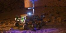 Astronaut auf ISS lenkt per Weltraum-Internet Mars-Rover auf der Erde