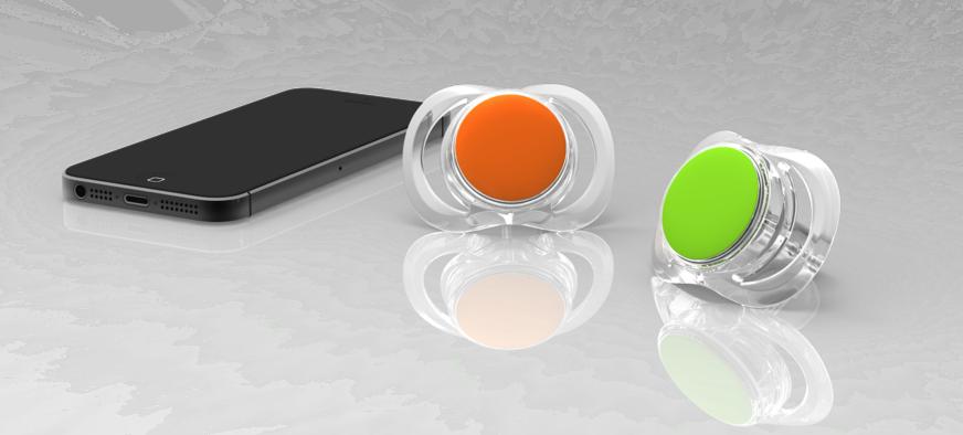 Der smarte Schnuller Pacif-i von Blue Maestro: Damit er seine volle Kommunikationskraft entfalten kann, enthält er einen Bluetooth-Chip mit einer Akku-Laufzeit von einem Jahr.