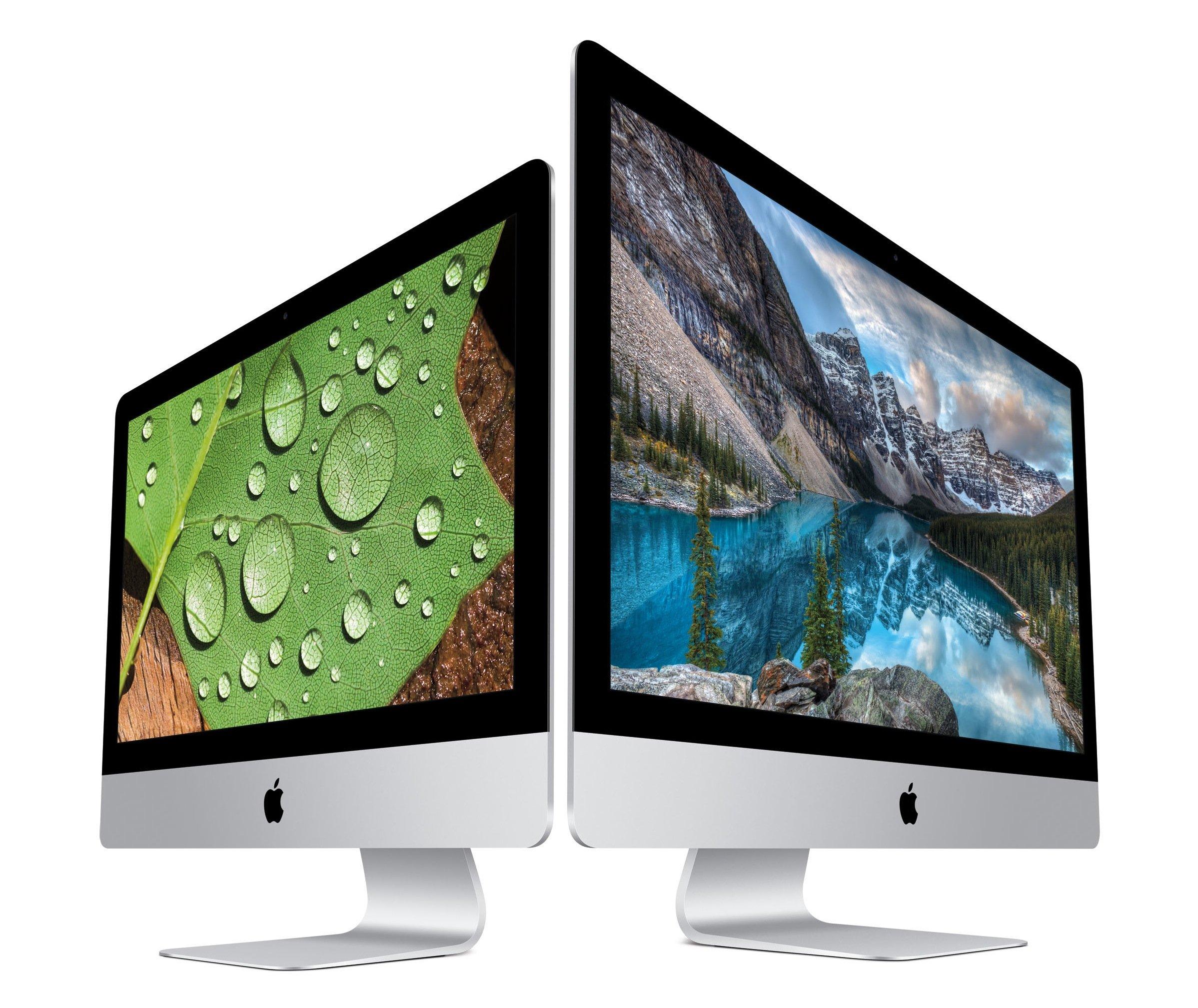 iMac-Computer von Apple: Der Konzern hat den Marktanteil seines Betriebssystems MacOS auf knapp 10 % steigern können.