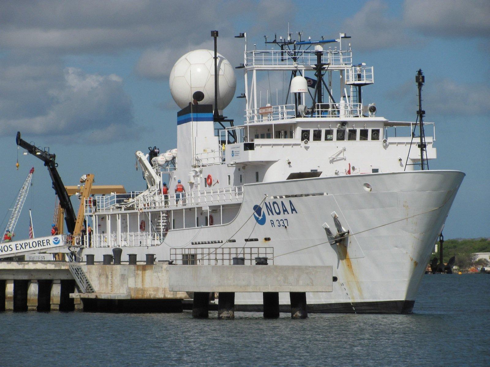 Noch bis Juli ist das Forschungsschiff Ocean Explorer auf Expedition im Marianengraben. Und schickt D2 in die Tiefen des Meeres, um bislang unbekannte Lebewesen zu entdecken und zu filmen.