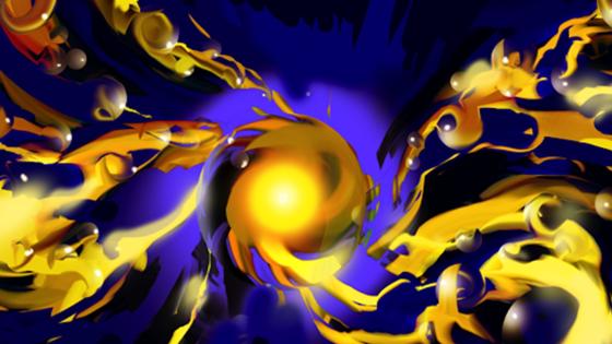Der kleinste Motor der Welt besteht aus winzigen Goldkügelchen, die explosionsartig abgesprengt werden.