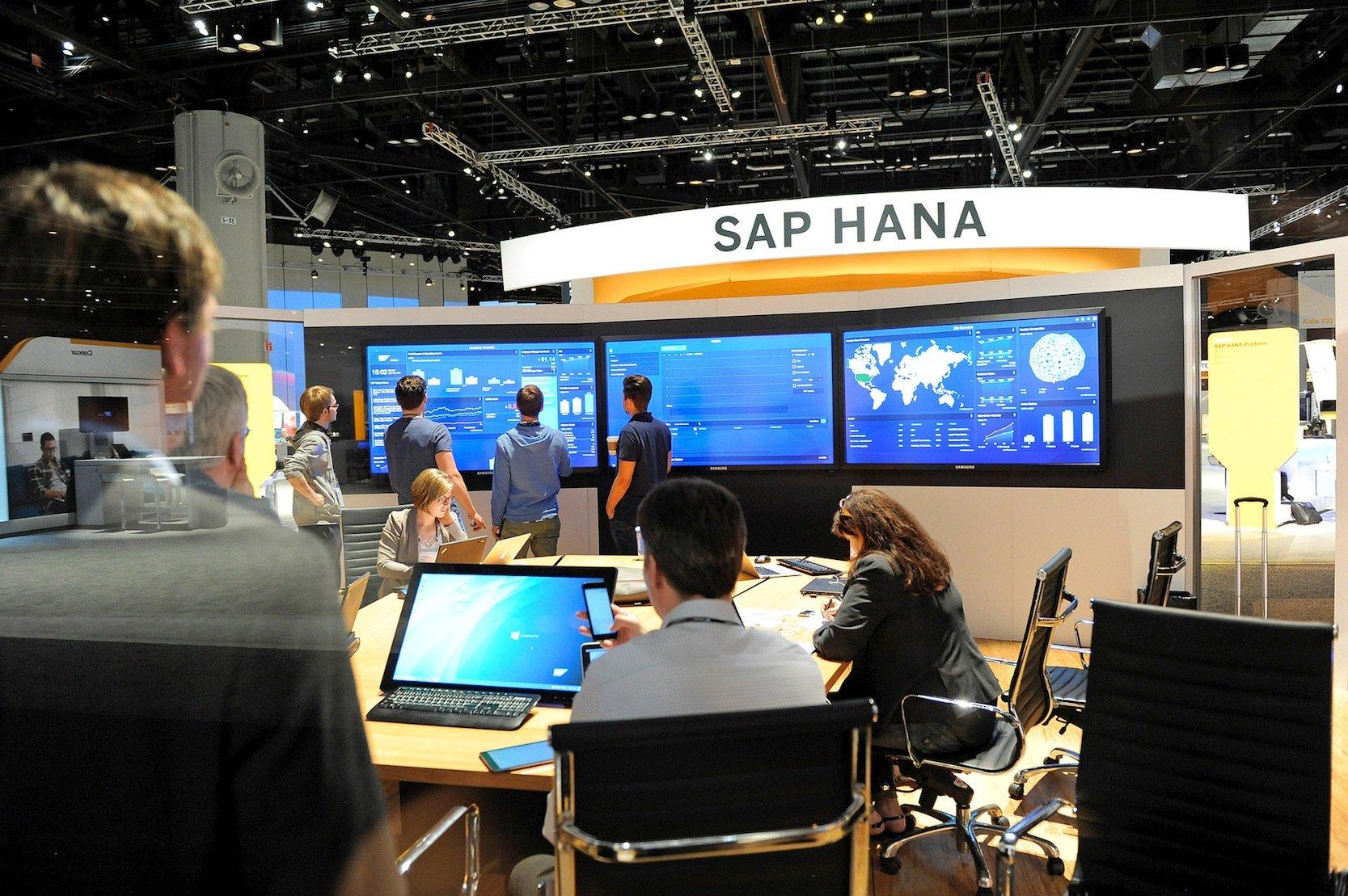Informatiker von SAP: Auf Grundlage der SAP Hana Cloud Plattform sollen jetzt leistungsfähige native Apps programmiert werden, um SAP-Software auf iOS-Geräten nutzen zu können.