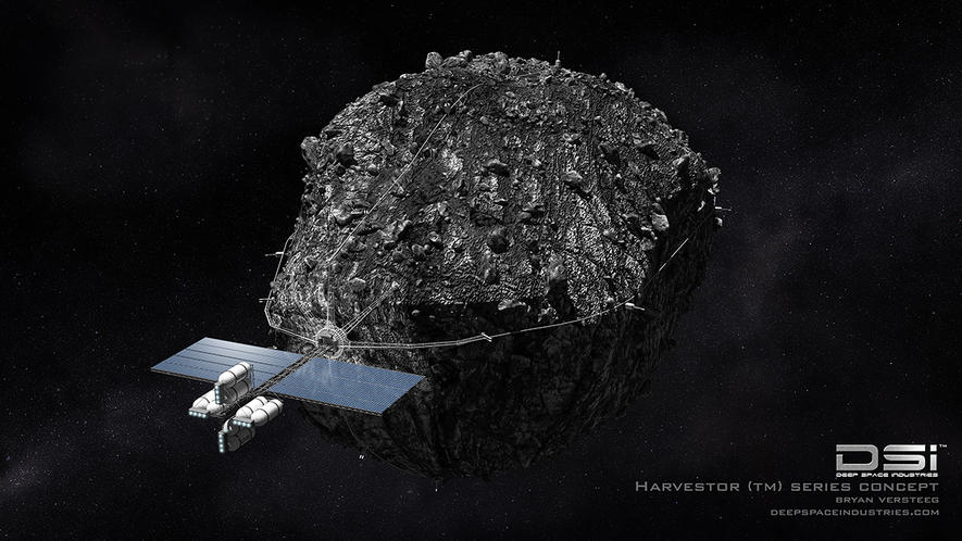 Ausgerechnet Luxemburg will mit Partner DSI Bergbau im All betreiben