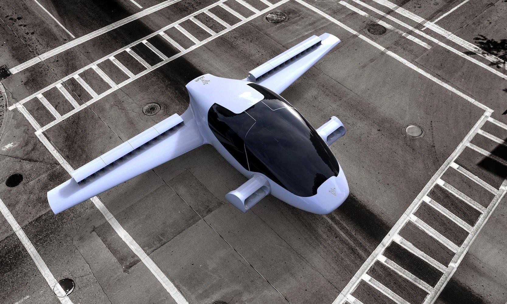 Der Jet kann senkrecht starten und landen und braucht deshalb wie ein Hubschrauber nur einen kleinen Start- und Landeplatz.