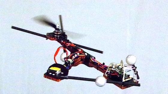 Ein Fluggerät der besonderen Art: Der Monospinner hat nur einen Rotor.