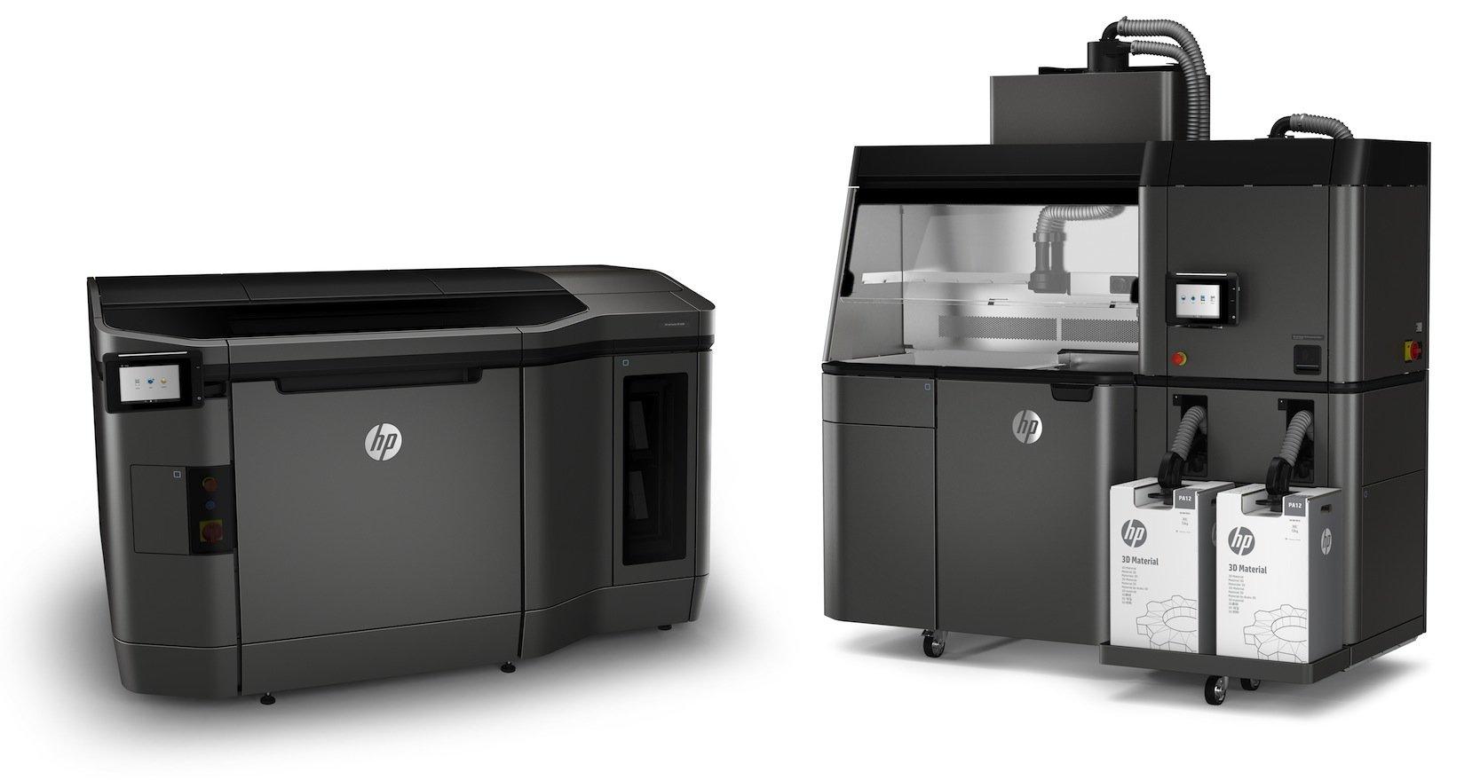 Das neue 3D-Drucksystem von Hewlett Packard.