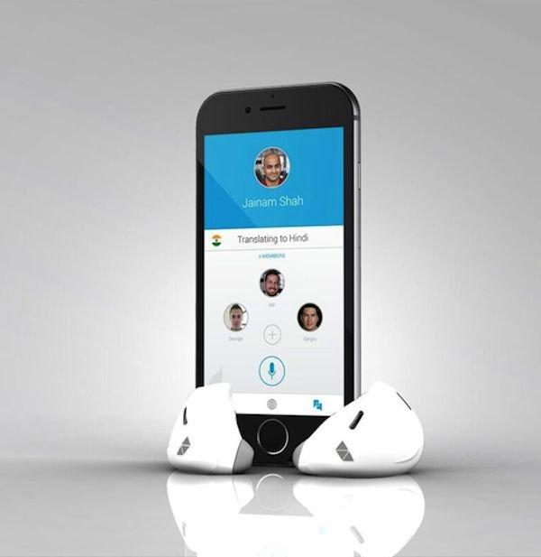 Blick in die Zukunft: Die erste Pilot-Generation wird noch kein Hindi sprechen oder verstehen können. Zunächst wird das System germanische und romanische Sprachen im Programm haben. Für die Übersetzungen muss die zugehörige App auf das Smartphone heruntergeladen werden.