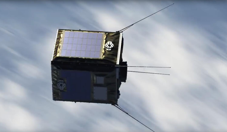 Der 0,5 m2 große Satellit ist mit bis zu 1000 Pellets beladen. Sobald er sich in der Erdumlaufbahn stabilisiert hat, entlädt er die kleinen Kugeln.