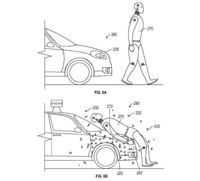 Skizze aus Googles Patentschrift.