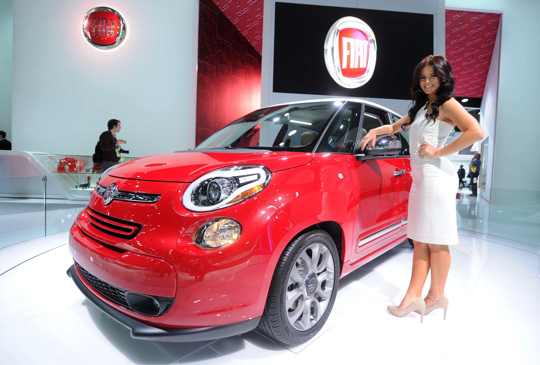 Fiat 500 auf der Detroit Auto Show: Dieselmodelle des italienischen Autobauers sollen über eine Manipulationssoftware verfügen, die die Abgasreinigung abschaltet.