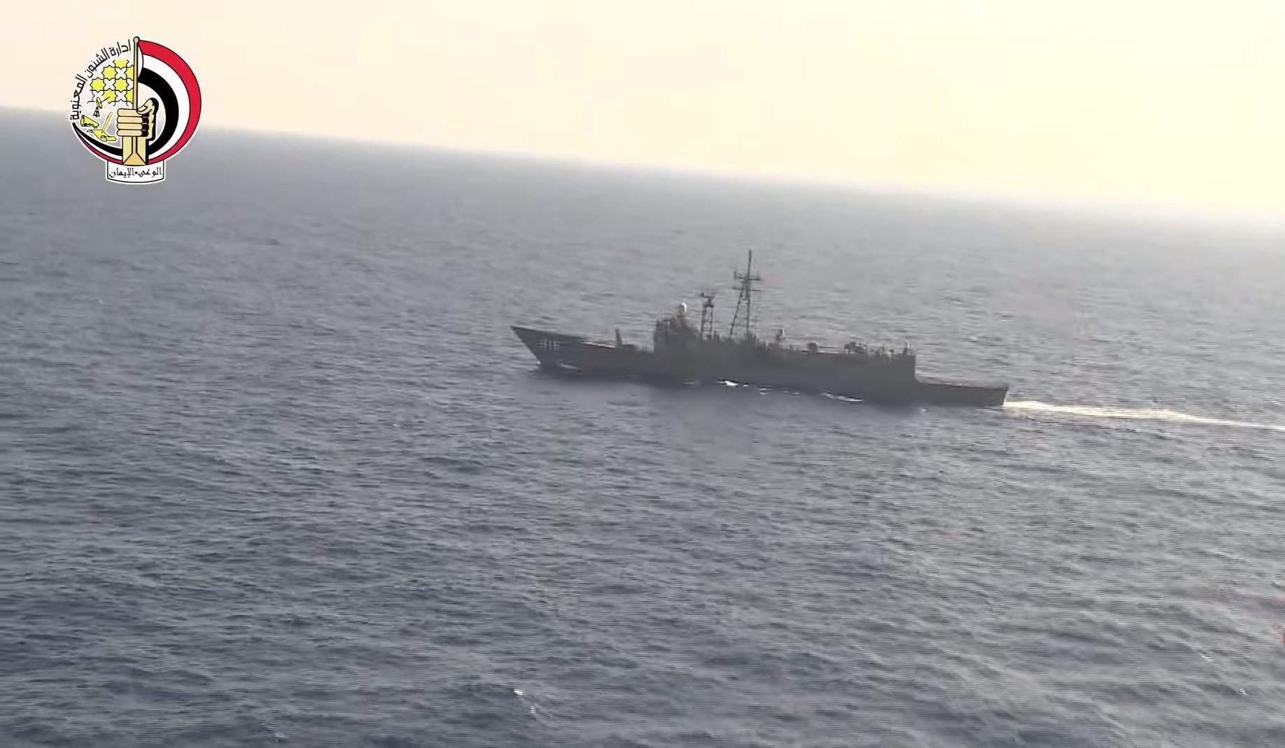 Ägypten setzt auch Kriegsschiffe im Mittelmeer ein, um nach Resten der abgestürzten Egyptair-Maschine zu suchen.