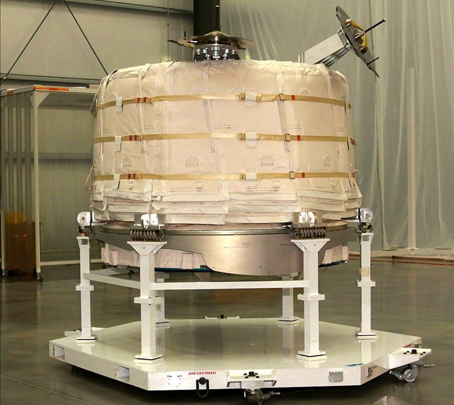 ISS-Astronauten haben neuen Wohnraum aufgeblasen