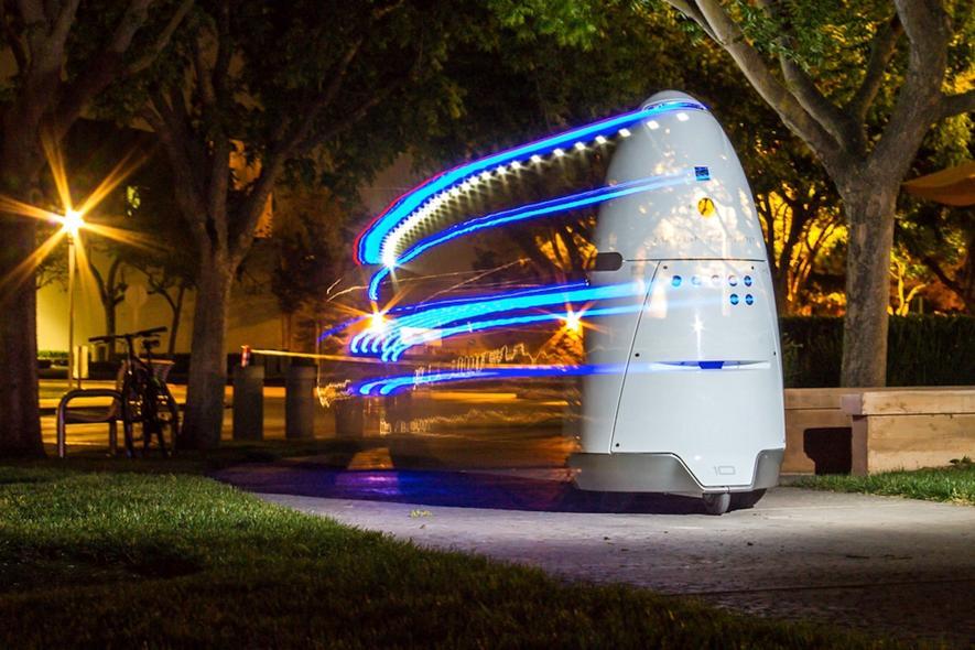 Robocop K5 hat Kunden, Ladendiebe und Einbrecher im Blick