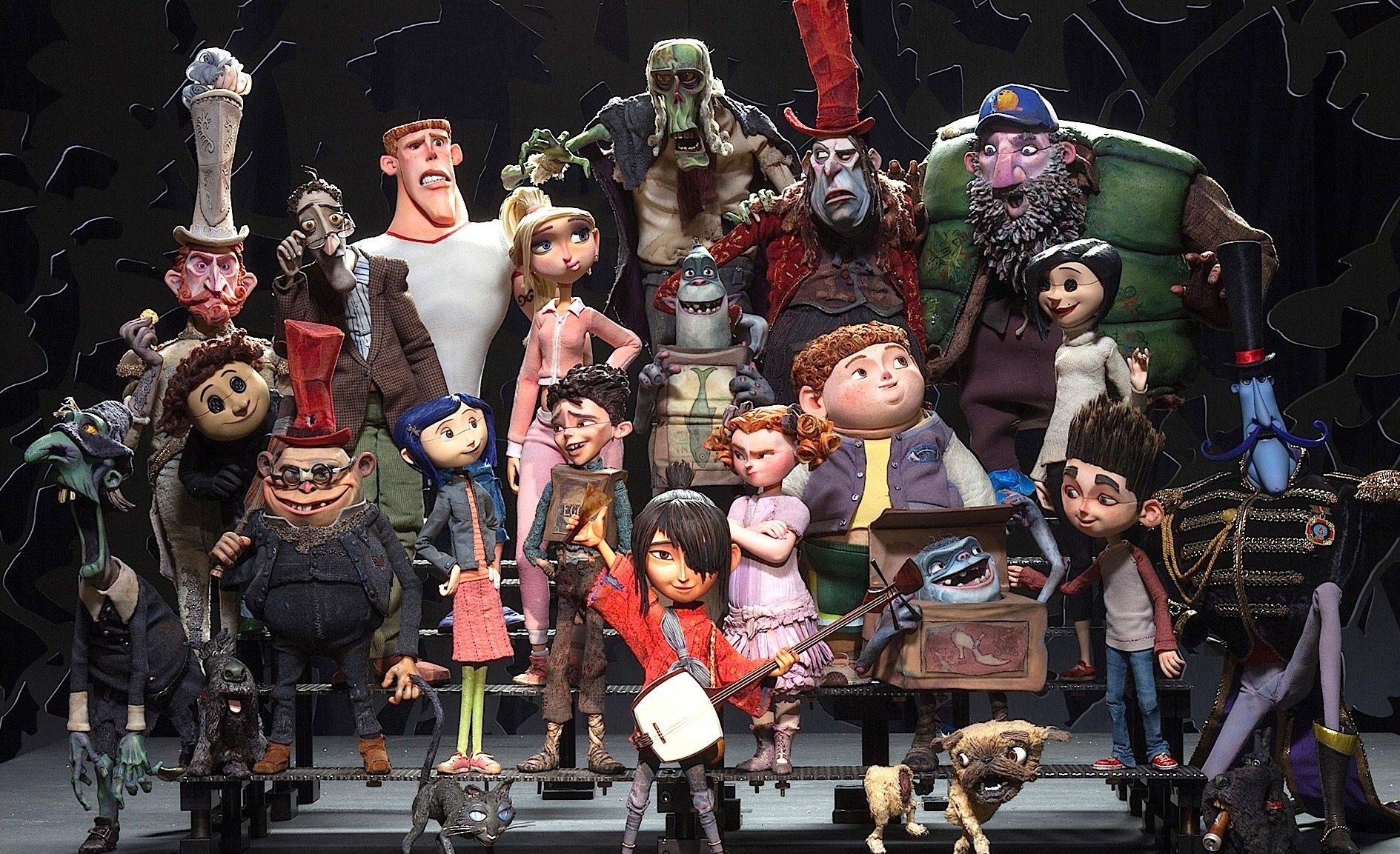 Die Figuren für Stop-Motion-Filme werden mit vielen Details und Hunderten von Varianten hergestellt.