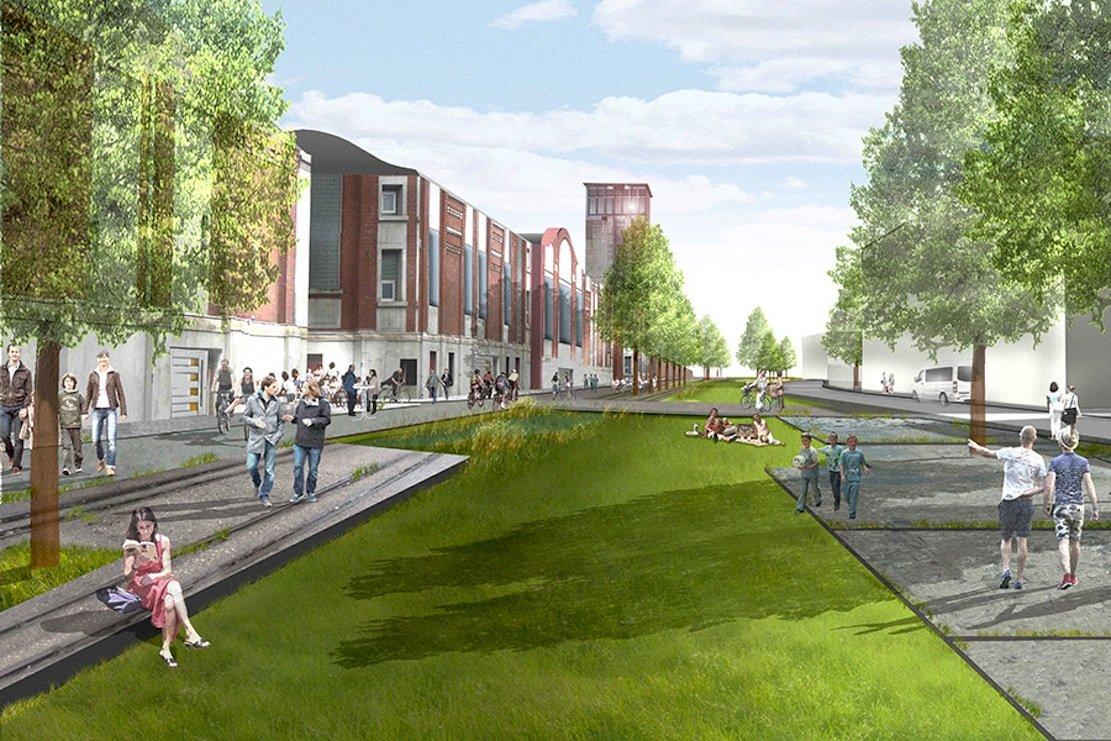 Auf der stillgelegten ZecheLippe/Westerholt soll ein neues Stadtquartier entstehen. Das Abwasser soll getrennt und wiederverwendet werden.