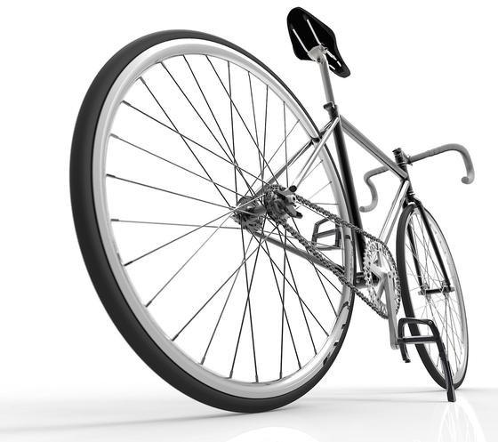 Tolle Idee: Designer aus New York haben ein Pedal entwickelt, das ausgeklappt als Ständer dient.