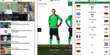 So verfolgen Sie die Fußball-EM auf Smartphone und Tablet