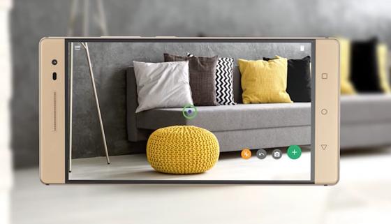 3D-Bilder helfen bei der Wohnungseinrichtung: Das neue Phab 2 Pro von Lenovo kann 3D-Bilder aufnehmen, in das man zum Beispiel ein Sofa einfügt, für das man sich interessiert. So kann man entscheiden, ob das neue Möbelstück in die Wohnung passt.<strong><strong></strong></strong>