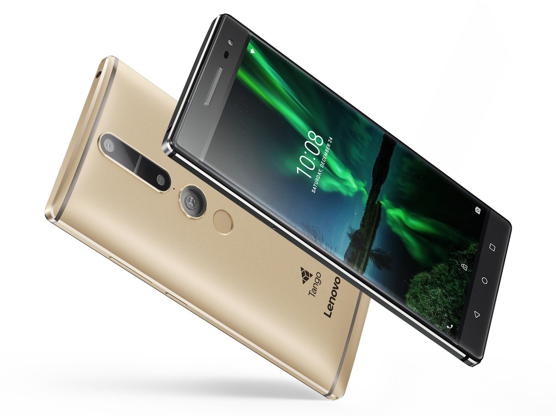Phab 2 Pro von Lenovo: Das Smartphone kommt im September 2016 für 499 € auf den Markt.