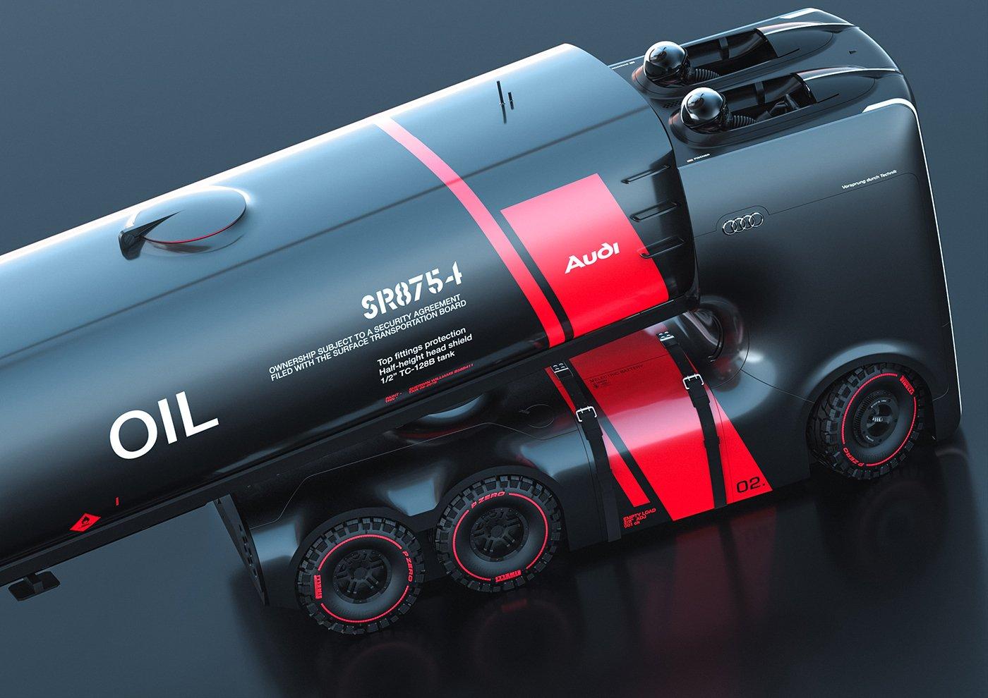 Ein Öltanker mit dem Flair eines Rennwagens.